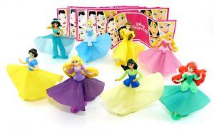 Komplettsatz Disney Princess mit allen 8 Beipackzetteln der Serie (VV367 - VV417)