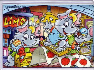 Mega Mäuse Puzzleecke oben links (Ü-Ei Puzzle)