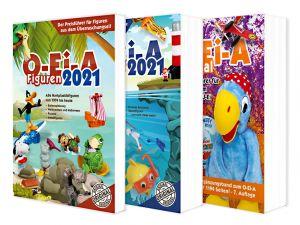 Das O-Ei-A 3er Bundle 2021 - O-Ei-A Figuren, O-Ei-A Spielzeug und O-Ei-A Spezial im 3er-Pack mit rund 9,00 € Preisvorteil gegenüber Einzelkauf