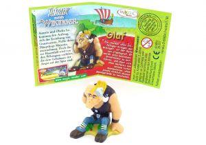Olaf mit deutschen Beipackzettel (Asterix und die Wikinger)
