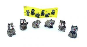 Ein Satz CATS mit Beipackzettel [Firma Borfrost]