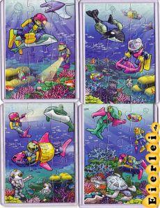 Ozean, alle 4 Puzzle mit BPZ (Superpuzzle)