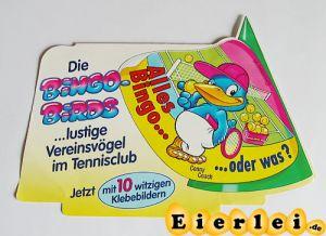PAH vom Hütchen der Bingo Birds (Palettenanhänger)