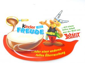 Palettenanhänger Kinder Freude von Asterix mit Asterix