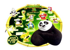 Palettenanhänger der Kung Fu Panda 3 Serie
