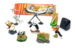 Kung Fu Panda II mit allen 9 Beipackzetteln aus Italien (Europa Satz)
