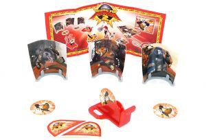 SCHEIBEN SPIEL mit deutschen Beipackzettel (Kung Fu Panda 2)