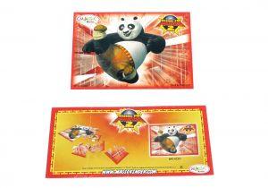 PUZZLE 2 mit deutschen Beipackzettel (Kung Fu Panda 2)