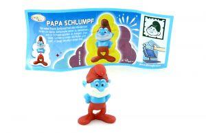 Papa Schlumpf mit deutschen Beipackzettel (Die Schlümpfe 2)