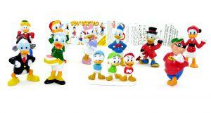 Disney PAPERINO Figuren Set. Alle 10 Figuren und der Beipackzettel zur Serie