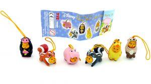 Winnie Pooh Animal Wear + Beipackzettel von Firma Tomy
