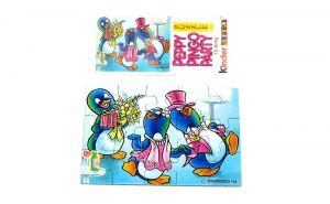 Peppy Pingo Party. Puzzleecke unten rechts mit Beipackzettel