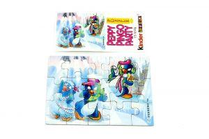 Peppy Pingo Party, Puzzleecke oben rechts mit Bepackzettel