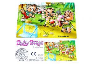 Pinky Piggys Puzzleecke unten recht mit Beipackzettel