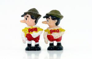Verformungsvariante von Pinocchio, ca 2mm kleiner (Ü-Ei Variante