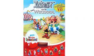 Poster von Asterix und die Wikinger in DIN A3 Größe