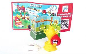 RED MIT POKAL mit Beipackzettel FF605 (Die Angry Birds)