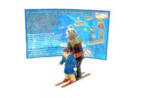 Der Vagabund und unser Junge mit Beipackzettel (Polarexpress)