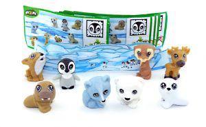 Natoons - Polarkinder mit Zubehör (Sätze Deutschland)