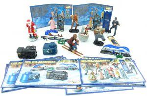 Super Satz Polarexpress mit allen deutschen Beipackzetteln und dem Spielzeug zur Serie