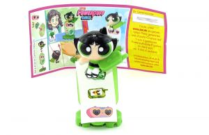 Buttercup mit Beipackzettel, SE319 (Powerpuff Girls)