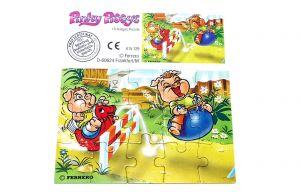 Pinky Piggys Puzzleecke unten links mit Beipackzettel