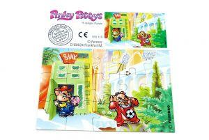 Pinky Piggys Puzzleecke oben rechts mit Beipackzettel