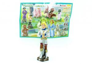 Prinz Charming mit Beipackzettel (Shrek der Dritte)