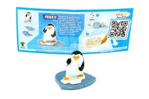 Private mit Beipackzettel von den Pinguins Madagascar