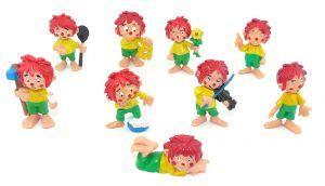 Set Pumuckl  Figuren. 9 Figuren der Serie ohne den Regenkobold