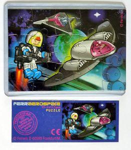 Ferrerospace Puzzle (Puzzleecke oben rechts)