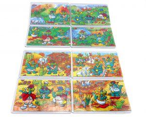 Schwind Drachen Abenteuerland Superpuzzle alle 8 mit Beipackzetteln (Czapp)