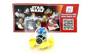 R2 D2 von Star Wars mit Beipackzettel (FS327)