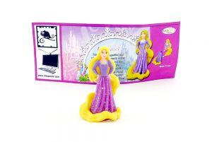 Rapunzel mit deutschen Beipackzettel aus dem Ü-Ei Prinzessinnen