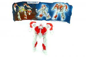 Ratchet von den Transformers 2014 mit Beipackzettel