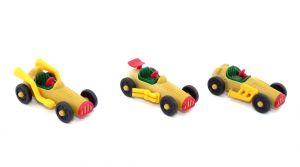 Satz Oldtimer Rennwagen von 1993 (Autos)