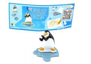 RICO mit Beipackzettelvon den Pinguins Madagascar