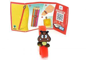Super Mario Armband mit Boomb und Beipackzettel DV561