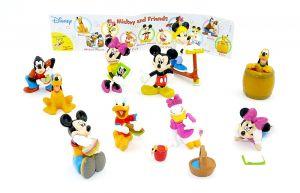 Mickey and Friends Figuren von Rübezahl und Koch