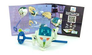 """PJ ROBOT Figur von den """" PJ Masks"""" mit Beipackzettel DV438"""