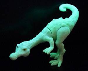 Rudi - Rudy der weiße Dinosaurier aus dem Film von ICE AGE 3 (leuchtet im Dunkeln)