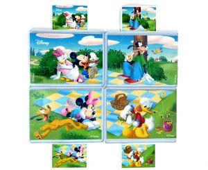 Superpuzzle Micky und Friends von Rübezahl und Koch mit 4 Bauanleitungen (Komplett - Superpuzzle)