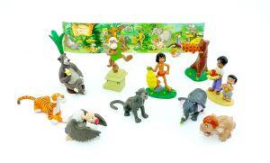 Figurensatz vom Dschungelbuch 2003 von Rübezahl und Koch