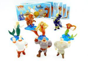 Komplettsatz Bogatyrja Figuren aus Russland
