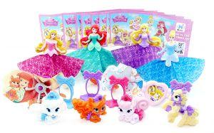 Satz Disney Prinzessinnen & Palace Pets 11 Figuren mit Beipackzettel
