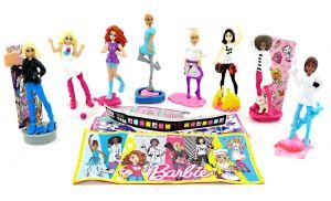 """Figurensatz von """"Die Barbie Traumberufe"""" mit allen an Zubehör und einem deutschen Beipackzettel (8 Figuren)"""