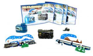 Spielzeugsatz vom Polarexpress, alle 4 Inhalte mit deutschem Beipackzettel.