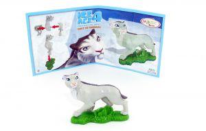 Shira aus der Serie Ice Age 4 mit Beipackzettel