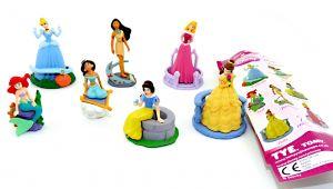 Disneys Princess Magical Forever. 7er Figuren Set mit 7 Beipackzetteln