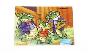 Puzzleecke von der Kroko Schule oben links (15 Teile Puuzle)